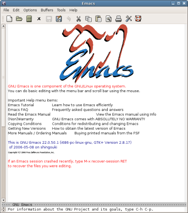 Emacs | The Emporium of Lost Thoughts