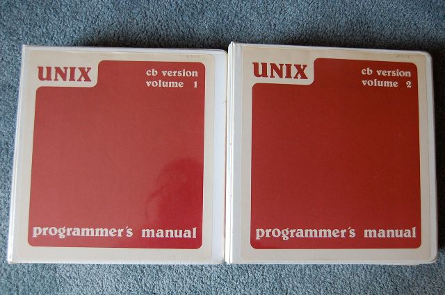 Front Cover of CB Unix Manuals, Volume 1 and 2